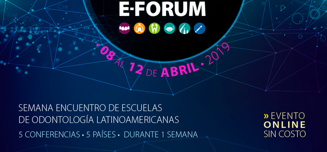 10th Coltene School E-Forum del 08 al 12 de Abril de 2019