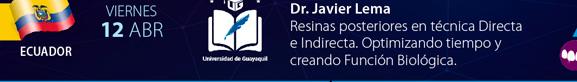 Viernes 12 - Ecuador - Dr. Javier Lema