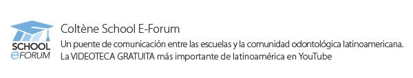 Coltene School E-Forum