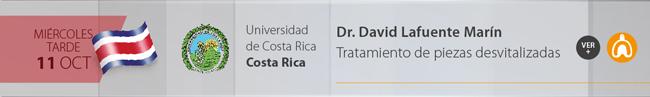 Miercoles 11 por la tarde - Dr. David Lafuente Marín