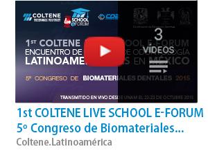 1st Coltene Live School E-Forum