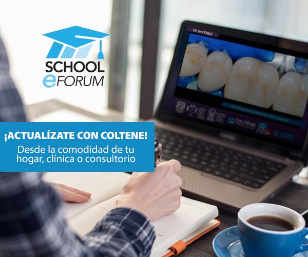 Actualizate con Coltene School E-Forum